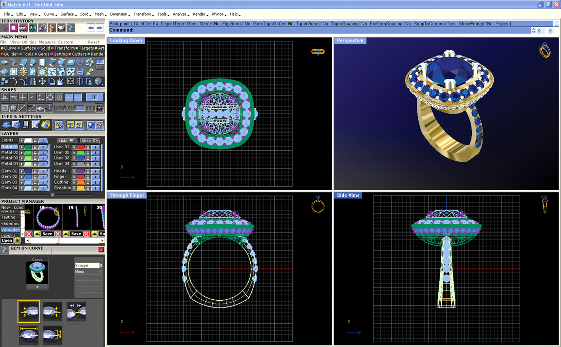 matrix 3d jewelry design software crack - Jewelry Girls & Te