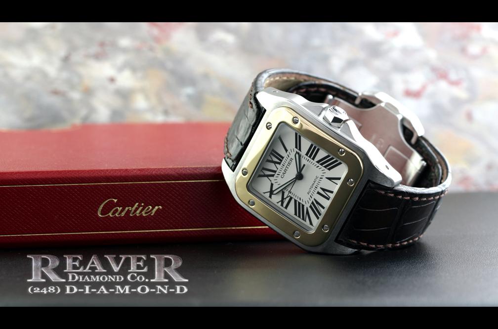 Mens Cartier Santos XL100 Watch