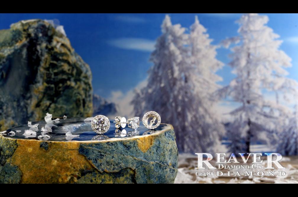 RB Halo Stlye Jacket Earrings #2